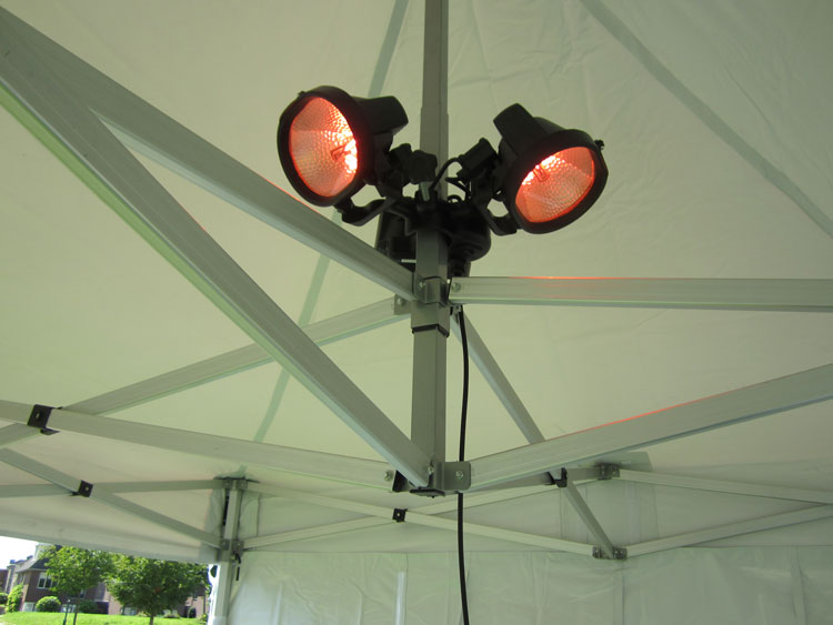 partytent heater